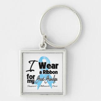 Great-Grandpa - Prostate Cancer Ribbon Keychains