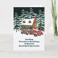 Great Grandparents Cards   Zazzle UK