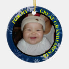 Great Grandparents Photo Gift Tag & Ornament