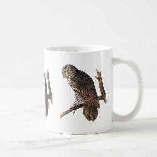 Great Gray Owl Coffee Mugs