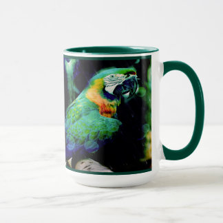 Great Green Macaw at Dewlight Mug