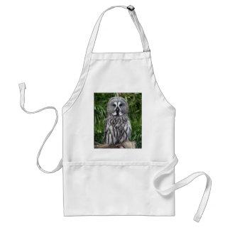 Great Grey Owl Adult Apron