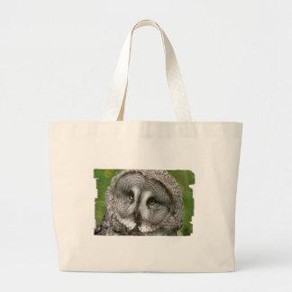 Great Grey Owl Canvas Bag