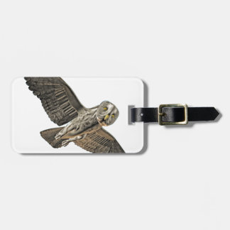 Great Grey Owl Luggage Tags