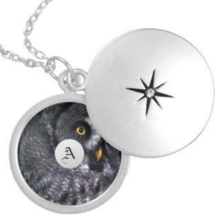 Great Grey Owl Owl Pendants - Customized