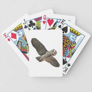 Great Grey Owl Bicycle Card Deck