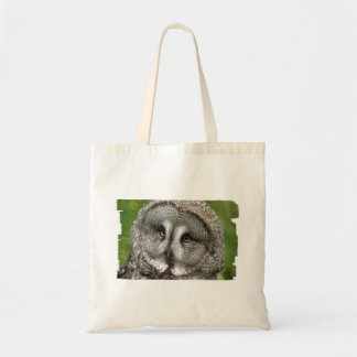 Great Grey Owl Small Tote Bag