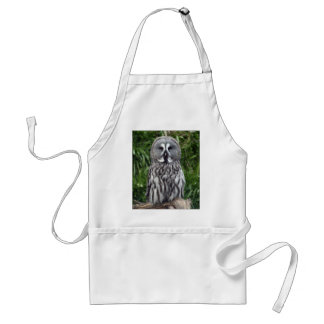 Great Grey Owl Standard Apron