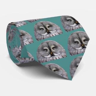 Great Grey Owl Tie