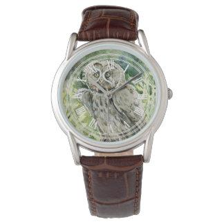 Great grey owl vintage watch