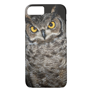 Great Horned Owl  2 iPhone 8/7 Case
