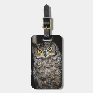 Great Horned Owl  2 Luggage Tag