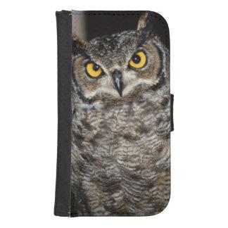 Great Horned Owl  2 Samsung S4 Wallet Case