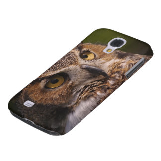 Great Horned Owl, Bubo virginianus Galaxy S4 Case