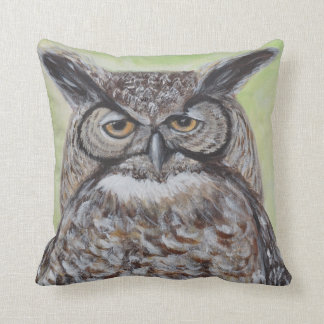Great Horned Owl Cushion