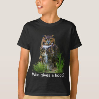 Great Horned Owl Customizable T-Shirt