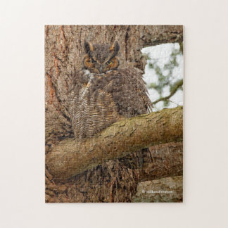 Great Horned Owl in the Douglas Fir Puzzles