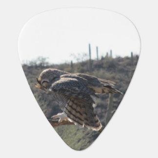 Great Horned Owl Plectrum
