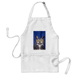 Great horned owl standard apron