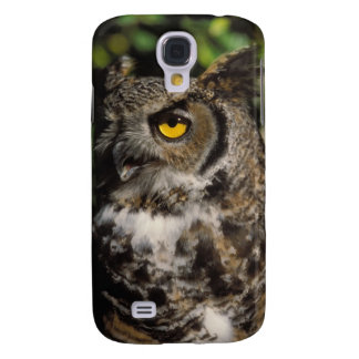great horned owl, Stix varia, in the Anchorage Galaxy S4 Case