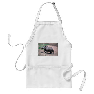 Great Indian One-Horned Rhino Aprons