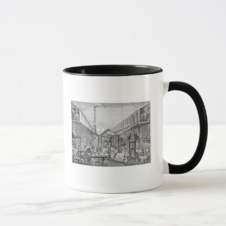 Great industries, workshops of construction mug