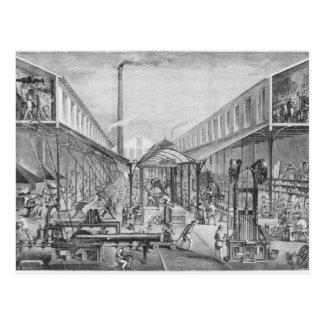 Great industries, workshops of construction postcard