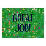 GREAT JOB CARD