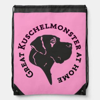 Great Kuschelmonster at Home Cinch Bag