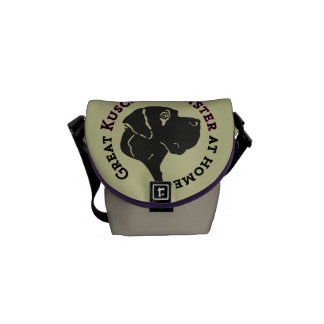 Great Kuschelmonster at Home Courier Bag