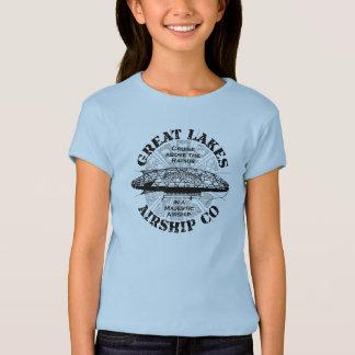 Great Lakes Airship Cruise Kid T Shirt