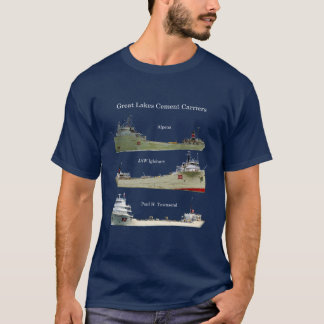 Great Lakes Cement Carriers shirt dark