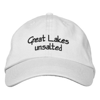 Great Lakes - unsalted Embroidered Baseball Cap