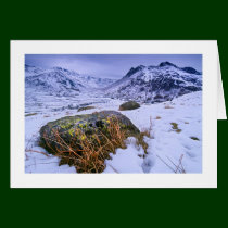 Great Langdale in Winter - The Lake District Greeting Card