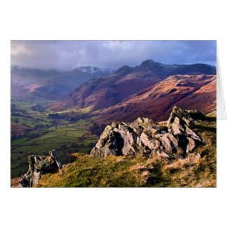 Great Langdale, The Lake District Greeting Card