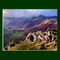 Great Langdale, The Lake District postcard