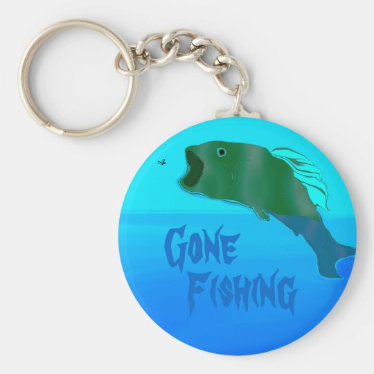 Great Leap Basic Round Button Key Ring
