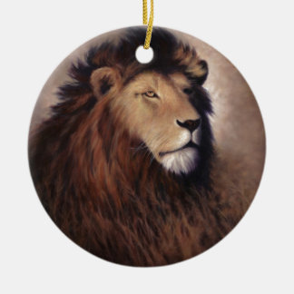 Great Lion Christmas Ornament