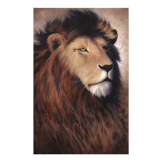 Great Lion Personalised Stationery