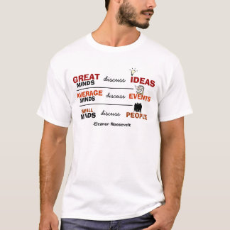 Great Minds & Small Minds T-Shirt