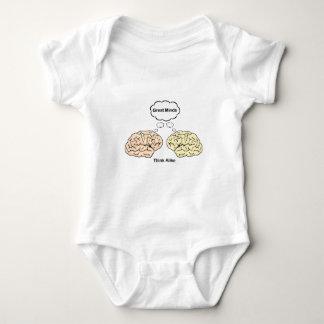 Great Minds Think Alike Baby Bodysuit
