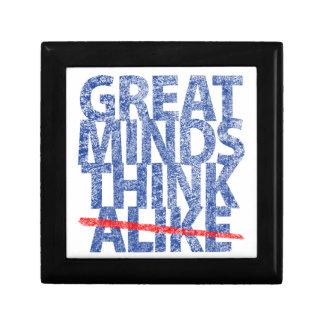 Great Minds Think Alike Trinket Box