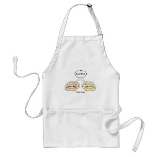 Great Minds Think Alike Standard Apron