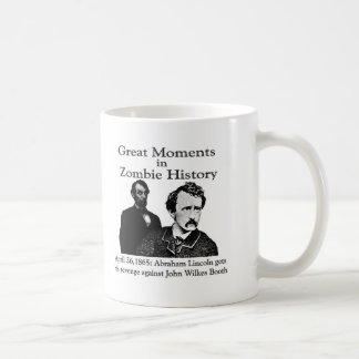 Great Moments in Zombie History Mugs