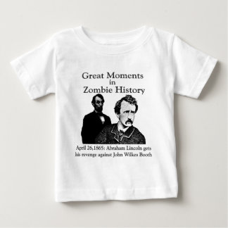 Great Moments in Zombie History Tshirts