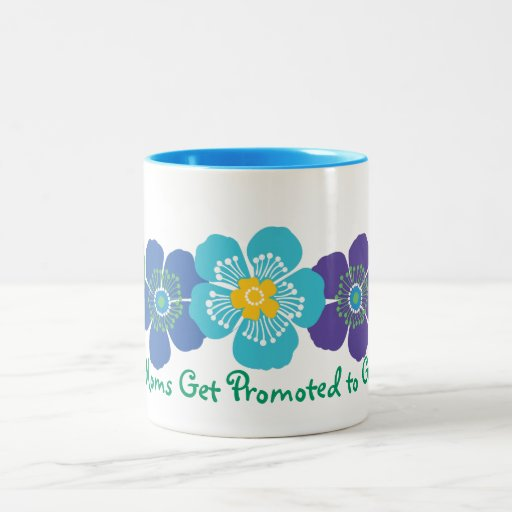 Great Moms Get Promoted to Grandma Coffee Mugs