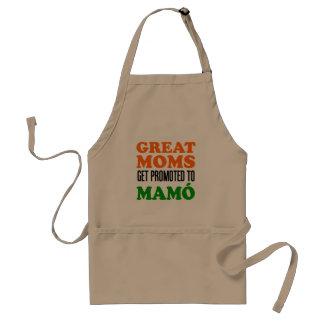Great Moms Get Promoted To Mamo Irish Apron