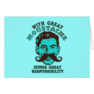 Great Moustache Card