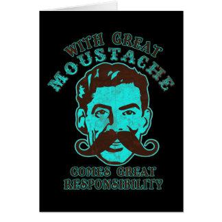 Great Moustache Card