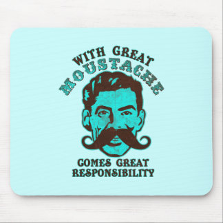 Great Moustache Mouse Pad